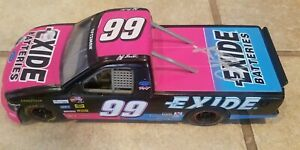 1997 Racing Champions Jeff Burton Autographed #99 Exide Ford 1/24 Diecast Truck