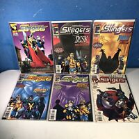 Lot of 12 SLINGERS 1998 MARVEL COMICS Nice Titles All Bagged And Boarded