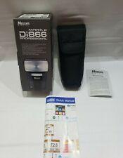Nissin Di866 Professional Mark II Digital Flash for Canon E-TTL/ E-TTL II w/Case