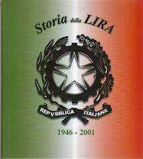 LIRA TIPOLOGICA ALBUM PER LA RACCOLTA DELLE MONETE LIRA ITALIANA 1946/2001 VUOTO