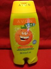 Avon Kids Outgoing Orange Body Wash & Bubble Bath  In One 8.4oz. NEW