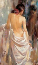 CHOP228 fine hand-painted Portrait oil painting decor art on canvas:Nude GIRL