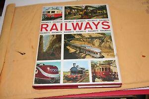 BOOK RAILWAYS LARGE FORMAT BOOK   GD/CD