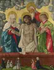 Hans Baldung GRIEN La Trinità e Mystic PIETA stampa in A4