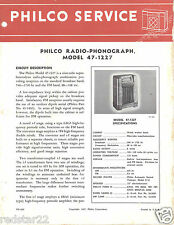 1941 Philco RMS Yearbook * Home - Auto Radios * CDROM