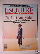 ESQUIRE March 1 1978 Last Angry Man Richard Reeves DAVID FROST REGGIE JACKSON ++