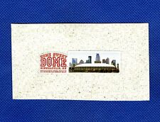 FULL COLOR HOME SWEET DOME LOGO AND IMAGE ON ORIGINAL METRODOME ROOF WITH COA