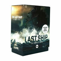 The Last Ship The Complete Series Seasons 1-5 (DVD, 15-Disc Box Set) 1 2 3 4 5