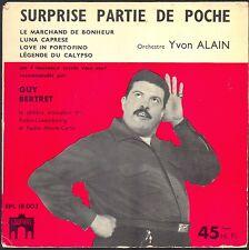 SURPRISE PARTIE DE POCHE 45T EP LE MARCHAND DE BONHEUR / YVON ALAIN RTL RMC