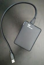 Western Digital Elements 1TB Portable External Hard Drive Black