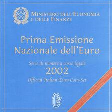 Italië BU 2002 Euro Coin set
