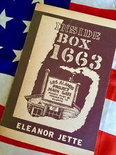 INSIDE BOX 1663 Atomic Bomb Los Alamos Manhattan Project Eleanor Jette Book