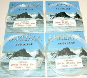 SAKUMA SUPACAST NYLON TRACE MONO LINE 100lb 150lb 200lb & 250lb SIZES AVAILABLE