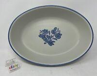 "Pfaltzgraff ""Yorktowne"" USA Large Oval Baker / Casserole Dish, 10 1/8"" - Nice!"