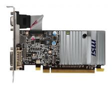 Graphic Card PCI Express 2.1 x16 512MB HDMI DVI VGA MSI Radeon HD5450 Passive
