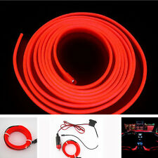 2M Red EL Wire Cold Neon lamp Atmosphere Lights For Holden VE Commodore Sedan