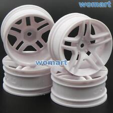 4pcs New RC 1/10 Hex 12mm Wheels Rims plastic for On Road Drift Flat Racing Car
