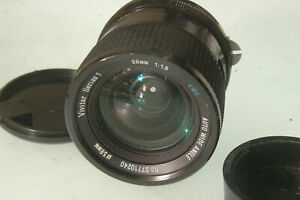 28mm F1.9  vivitar  series 1,  Nikon mount Lens