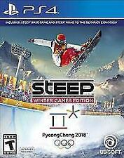 PS4 Steep Winter Games Edition Snow boarding NEW Sealed REGION FREE USA