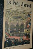 Le petit journal Supplément illustré N°493 / 29-4-1900 / Exposition de 1900