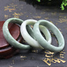 1pc Chinese Beautiful Genuine Natural Green Jade Gems Bangle Bracelet 60mm