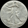 "A 1945 P Walking Liberty Half Dollar 90% SILVER US Mint ""Average Circulation"""