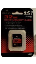 32 GB  SDHC MEMORY CARD STEALTH CAM HIGH SPEED 10