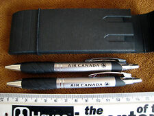 AIR CANADA PEN AND PROPELLING PENCIL SET IN CASE - NEW UNUSED ya004mw2u