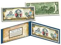 GUAM $2 Statehood GU Territories Two-Dollar US Bill Genuine Legal Tender w/Folio