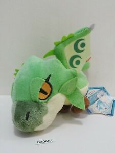 Monster Hunter 020601 Capcom Rioreia Rathian Green Rathalos USED Plush TAG