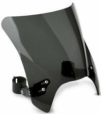 Mohawk Windshield Dark Tint Black Hardware 43mm  National Cycle