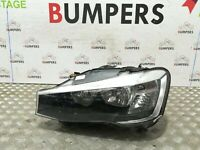 BMW X3 2014 - 2017 GENUINE F25 PASSENGERS LEFT HALOGEN HEAD LIGHT LAMP : 7334075