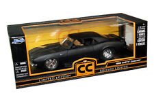 1968 CHEVY CAMARO SS DIE CAST MATT BLACK 1/18 BY JADA CC 96323 NEW