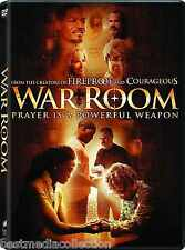 BRAND NEW - War Room DVD Prayer Is A Powerful Weapon 2016 Sealed ! SEALED