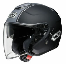 Shoei Gloss Fibreglass Open Face Motorcycle Helmets