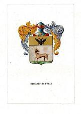 Araldica stemma araldico della famiglia Ordelaffi di Forlì