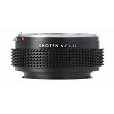 SHOTEN adapter for Nikon F mount  lens to Panasonic S1R/S1 FP Leica TL/TL2/CL SL