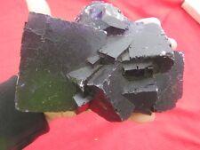 """Beautiful 6"""" 4Lbs. 1 Ounce Purple Fluorite Specimen"""