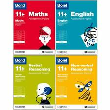 More details for bond 11+maths,english,verbal,non-verbal assessment papers 6-7 years 4 books set