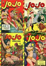26 Old Issues Of Jo-Jo Comics Congo King Fantasy Risque Sexy Art Magazine On Dvd