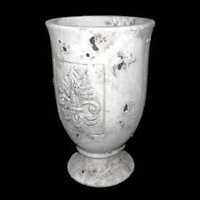 style ancien cache pot porte plante vase jardiniere en terre cuite 31x20cm
