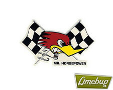 Mooneyes Right Flag Clay Smith Cams Mr Horsepower Sticker Stickers Decal VW Bug