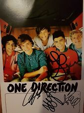 One Direction Personally Signed Photocard