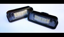 Mercedes Benz S-Class W220 LED License Number Plate Lights MB AMG Brabus Carlson