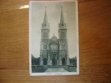 carte postale Postcard SAIGON la cathedrale 1983 NADAL