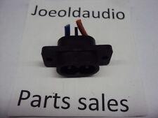 Technics SL-QD33 Original AC Line Cord Socket. Tested. Parting out SL-QD33.