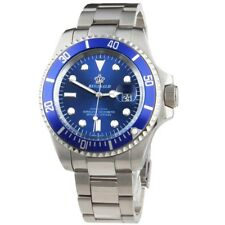 Reginald Submariner OMAGGIO Diver stile di lusso orologio al quarzo blu