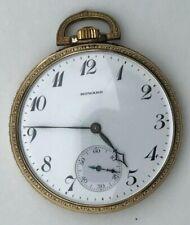 Vintage Antique 1913 Howard Pocket Watch RGP 17J  Model 1912 Restored A2
