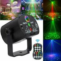 60 Pattern Laser Projector Stage Light LED RGB Party KTV Club DJ Disco Lights UK