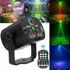 60 Pattern Laser Projector Stage Light LED RGB Party KTV Club DJ Disco Lights UK